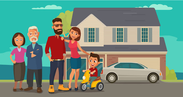Familia que progresa gracias a la libertad económica - Charkleons.com