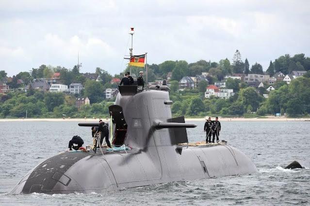 El U-35 regresa de la misión de la operación Irini de la Unión Europea