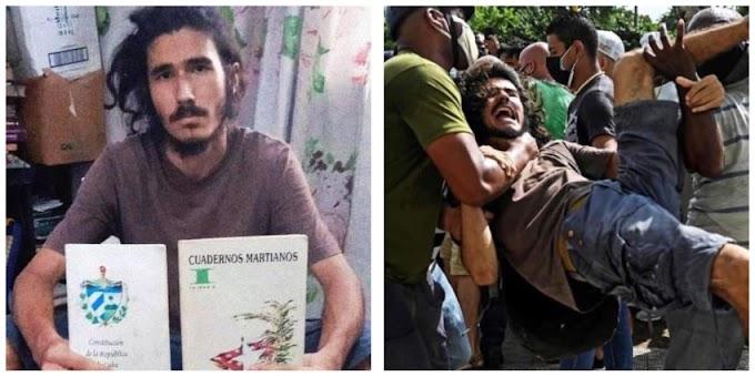 Sancionan a un policía que golpeó bajo custodia a un manifestante del 11J