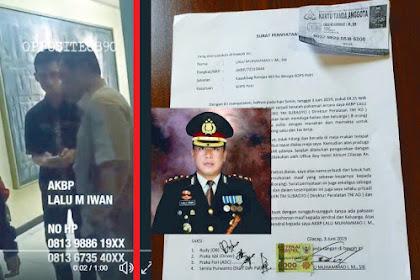 Viral Video Perwira Polisi Geledah dan Tuduh Brigjen TNI Mengambil HP-nya, Akhirnya Minta Maaf