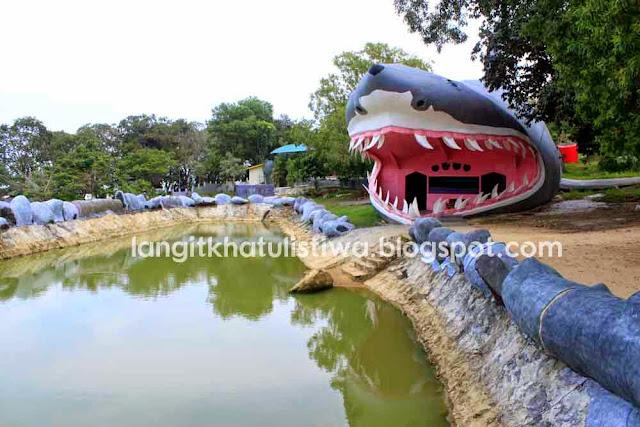 Koleksi Ikan Langka Kawasan Wisata Tanjung Bajau Singkawang