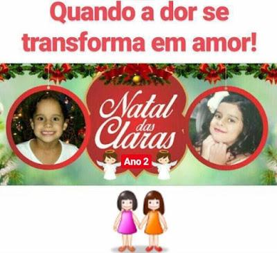 Natal das Claras: Ação leva amor e solidariedade para crianças carentes em Arcoverde