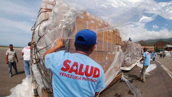 Llegan a Venezuela otras 69 toneladas de medicinas desde China