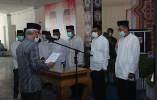 Wagub Sultra Lantik Pengurus Daerah Dewan Masjid Indonesia di Lasusua