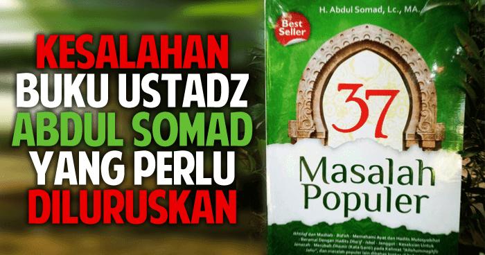 Bantahan Terhadap Buku 37 Masalah Populer Ustadz Abdul Somad
