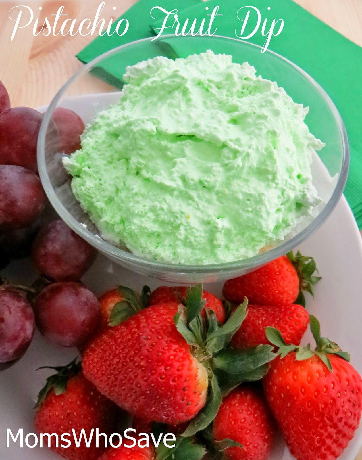 MomsWhoSave | Pistachio Fruit Dip -- You'll Love This Easy Recipe!