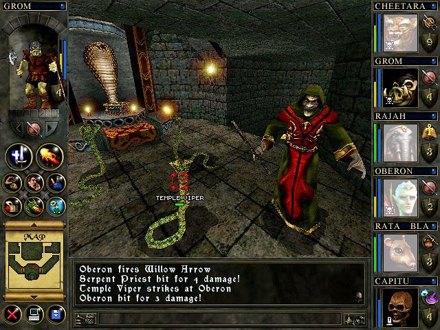 Wizards & Warriors - Serpent Priest