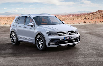 VW Tiguan Test Drive Experience