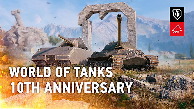 World of Tanks Starts its 10th Anniversary Celebrations