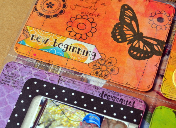 12x12 Misc. Me by Denise van Deventer using BoBunny Believe Collection & Foil Transfers