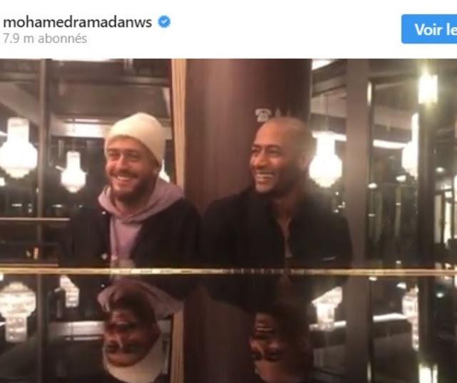 محمد,رمضان,وسعد,لمجرد,يروجان,لعمل,مشترك