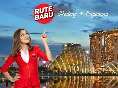 AirAsia rute Padang-Singapura