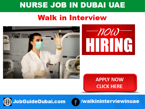 Al Mariah HR Human Resource Consultancy  job for Staff Nurse vacancy in Dubai UAE