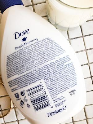питательный гель для душа Dove Deeply Nourishing