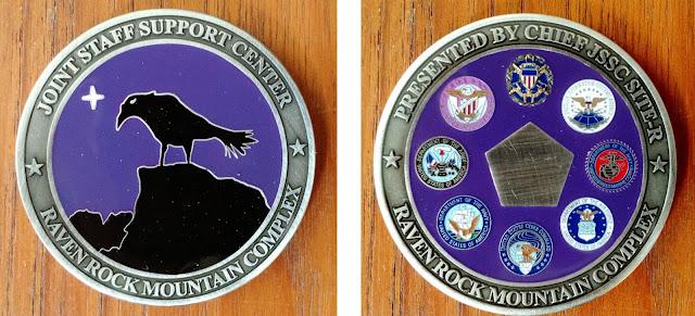 JSSC Raven Rock challenge coin - Site R