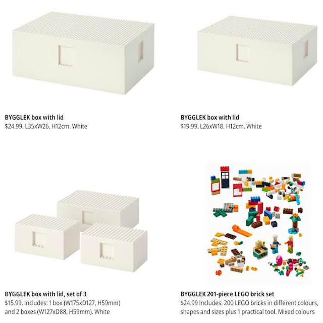 Bygglek e LEGO