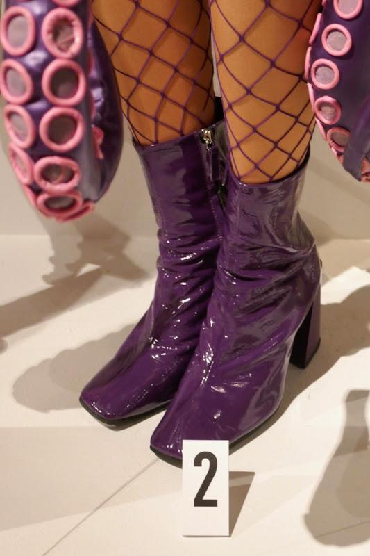 Esmé Squalor octopus ankle boots Unfortunate Events