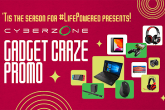 Hop onto the Gadget Craze and win #LifePowered gadgets at Cyberzone!