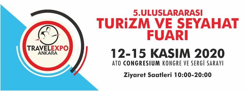 2020 Travelexpo 5. Uluslararası Ankara Turizm ve Seyahat Fuarı