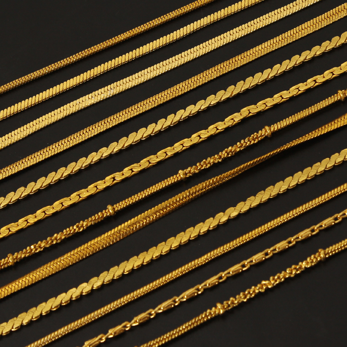 Gold Gold Chain Styles Guide