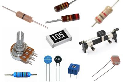 Pengertian Resistor beserta Simbol dan Jenis jenis Resistor