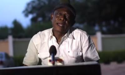 Osufia speaks on Biafra