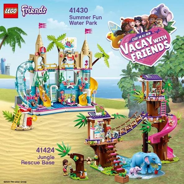 LEGOフレンズ41430 夏のドキドキウォーターパーク:€99.99(約¥13,000):Summer Fun Water Park