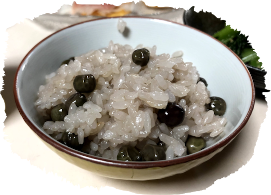 ツタンカーメン豆ご飯