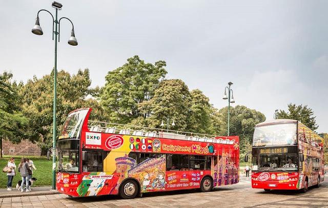 Tours de ônibus Hop on Hop off em Milão