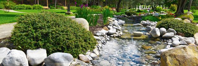 Ландшафтный дизайн весной