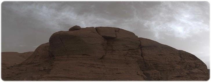Curiosity Kızıl Gezegende Bulutlar Görüntüledi