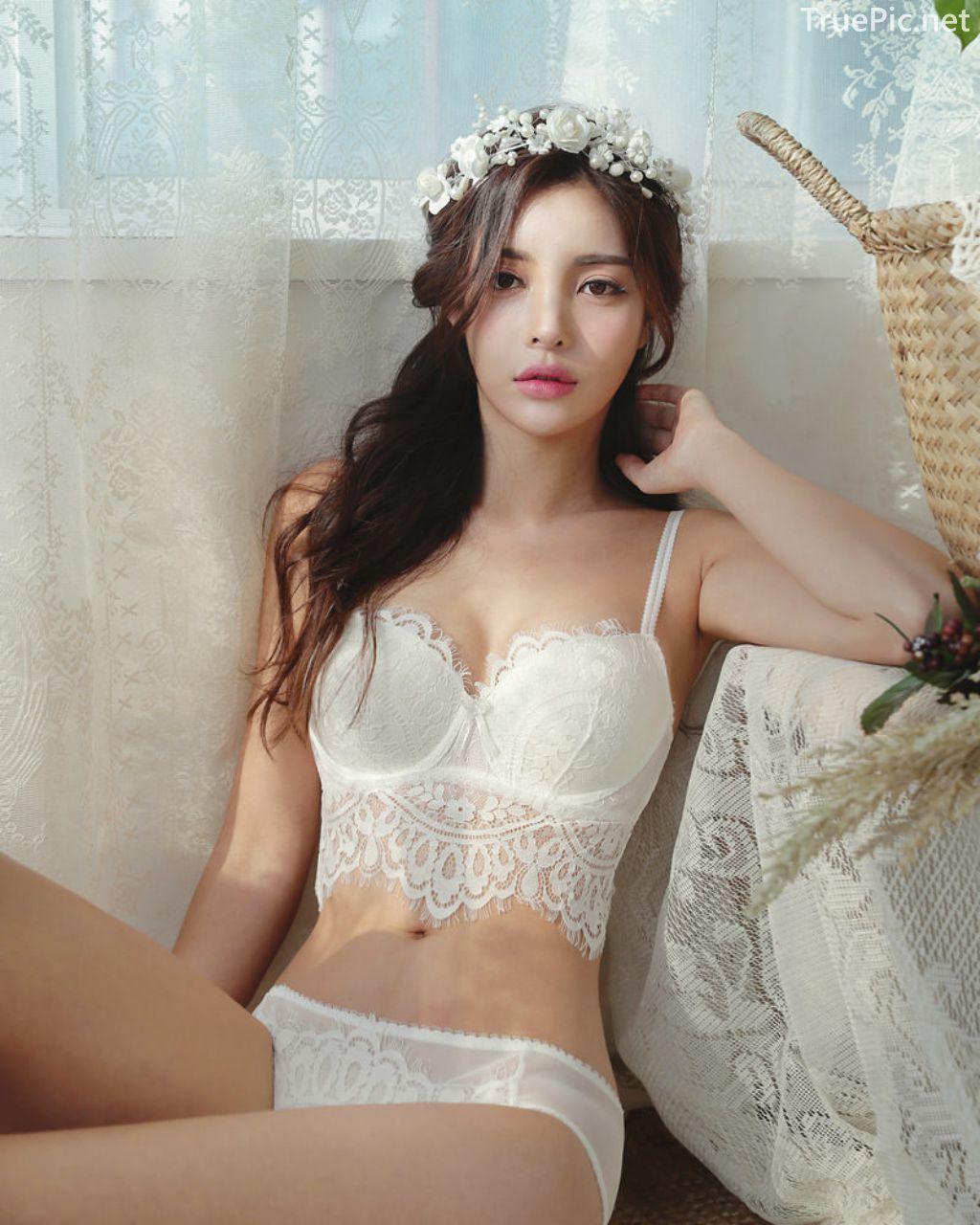Korean Fashion Model - Jin Hee - Lovely Soft Lace Lingerie - TruePic.net - Picture 7
