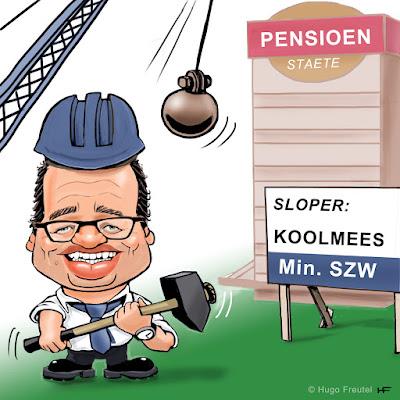 Minister Koolmees Pensioen Sloop in uitvoering
