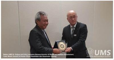 Rektor UMS Jajaki Kerjasama Mudahkan Alumni Kerja di Negeri Sakura