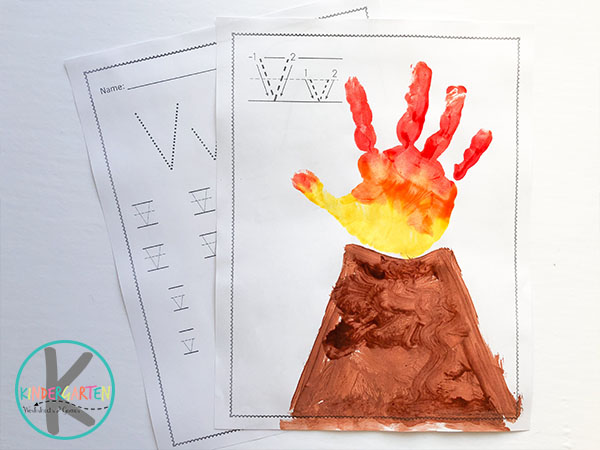 letter-v-worksheets-volcano-hand-print-art