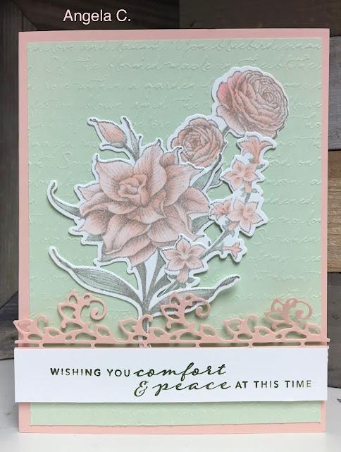 Stampin' Up!, Flowering Blooms, www.stampingwithsusan.com, scripty, Stampin' Cut & Emboss Machine,