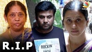 Actress Vijalakshmi's mom passes away | Director Agathiyan's wife | Death Video