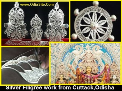 handicrafts of odisha silver filgree
