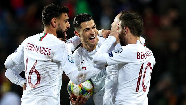 Ronaldo goal nets Portugal Euro 2020 berth