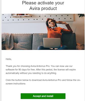 Avira Antivirus 3 months of premium-Giveaway