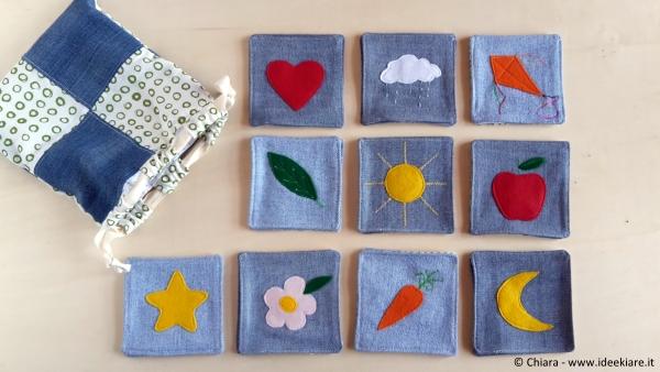 giochi per bambini con materiale di recupero