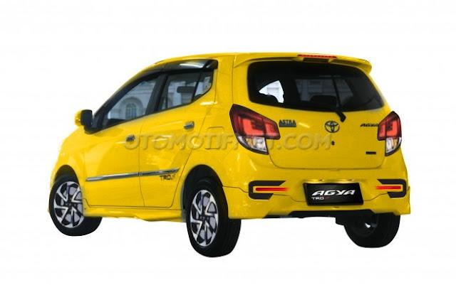Toyota Agya Facelift