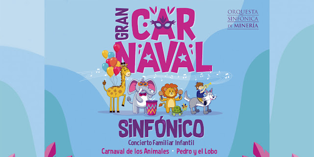 """La Orquesta Sinfónica de Minería vuelve con el """"Gran Carnaval Sinfónico"""" en streaming"""