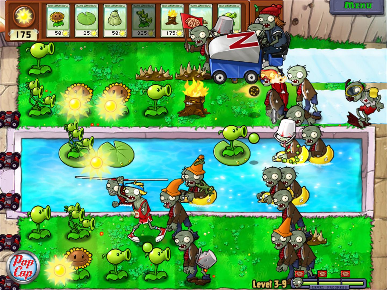 لعبة زومبي ضد النباتات 2 مهكرة