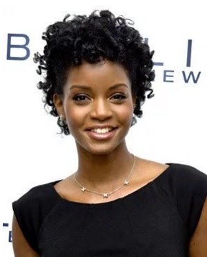 gaya rambut wanita hitam 2007