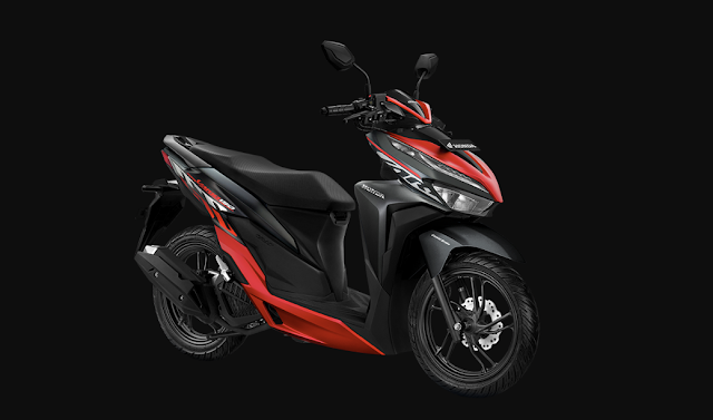 Spesifikasi lengkap Vario 150 sporty black red