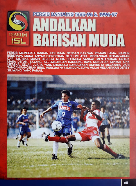 PERSIB BANDUNG 1995-96 & 1996-97 ANDALKAN BARISAN MUDA