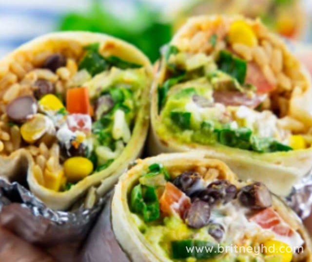 HOMEMADE VEGAN BURRITO RECIPES