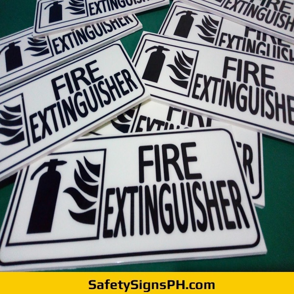 Sintra Fire Extinguisher Signs Philippines