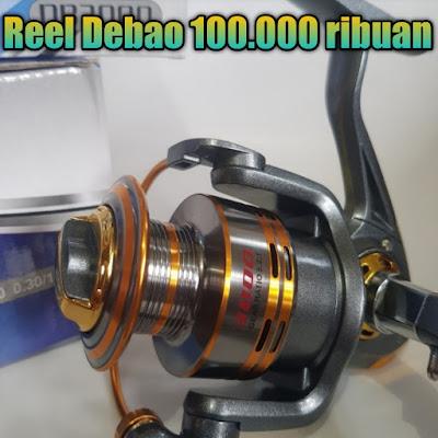 debao metal fishing 10 ball bearing harga murah